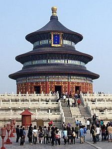 Temple of Heaven - hall of prayer for good harvests