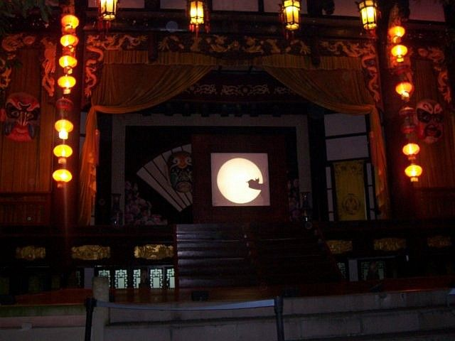 Wuhou theatre - Cat in Chinese shadow