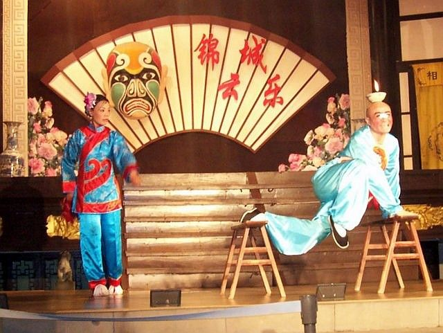 Wuhou theatre - Humour and agility