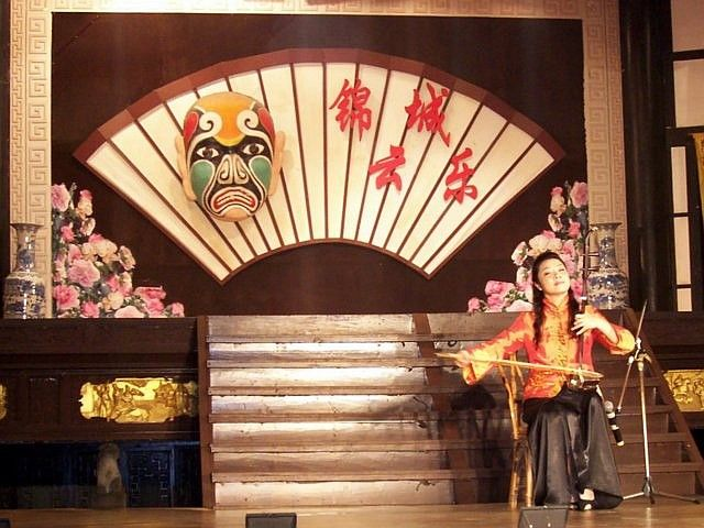 Wuhou theatre - Erhu, traditional music instrument of China
