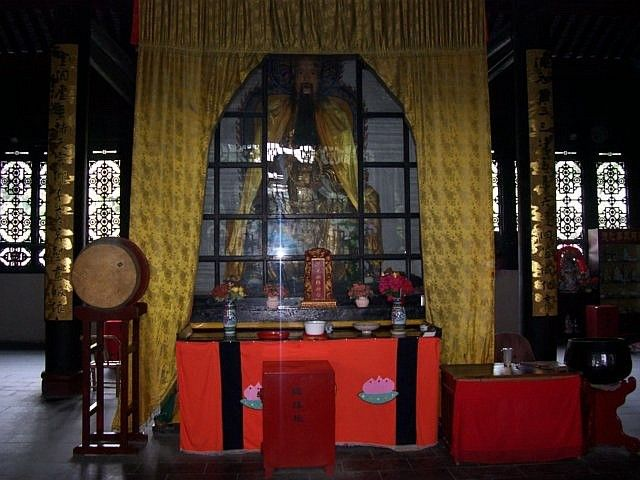 QingYang gong temple - Patriarch of original chaos hall