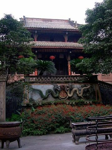 QingYang gong temple - Another part of the temple