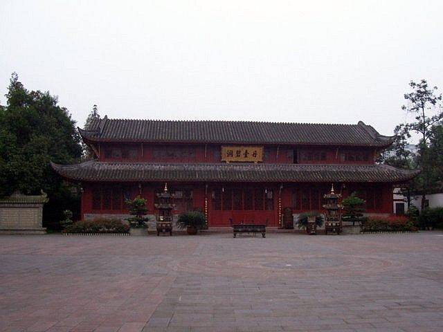 QingYang gong temple - Long building