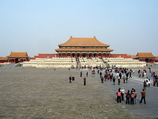 Forbidden city - Palace of supreme harmony with its esplanade
