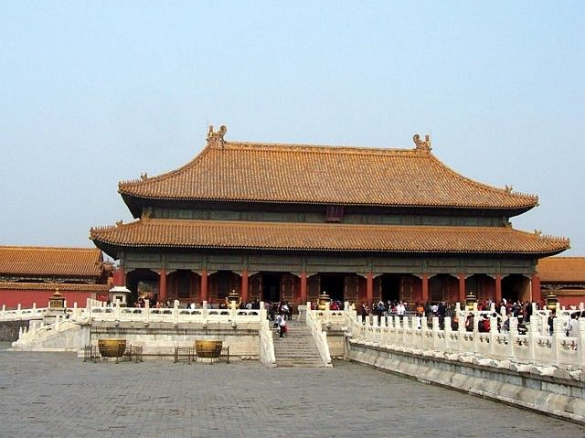 Forbidden city - Palace of Heavenly purity