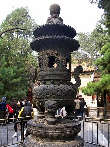 Forbidden city - bronze incense burner