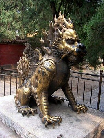 Forbidden city - The qilin