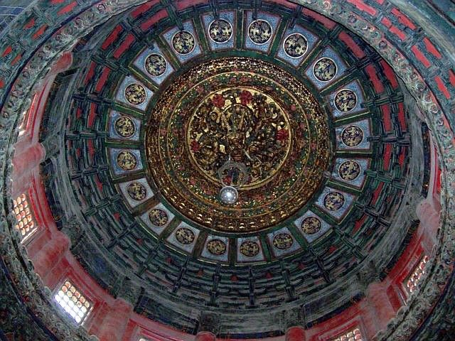 Forbidden city - Ceiling of a pavilion