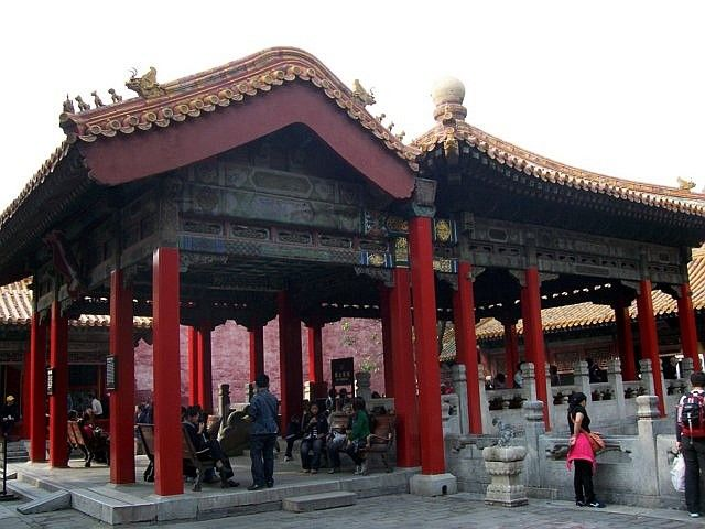 Forbidden city - Pavilion of the imperial garden