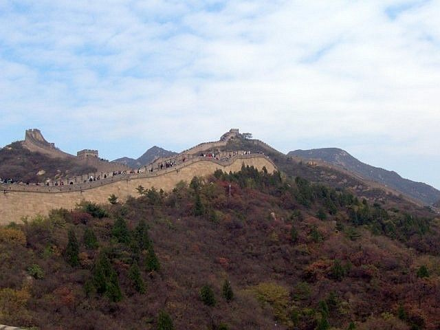 Badaling - up and downs of the great wall