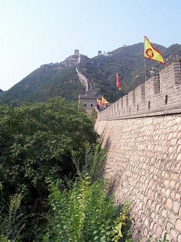 Juyong pass - the walls of the great wall