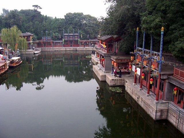 Summer palace - Shopping and artificial street called Suzhou street