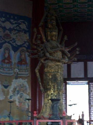 Photo Palais D 233 T 233 Statue De La Bodhisattva Guanyin