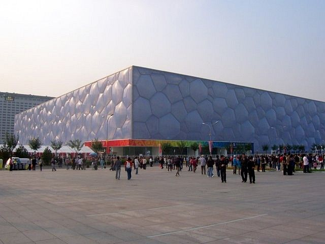 Olympic stadium - The water cube