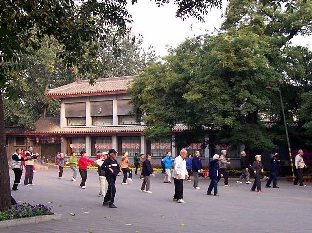 Temple of heaven - Tai-chi session, unarmed