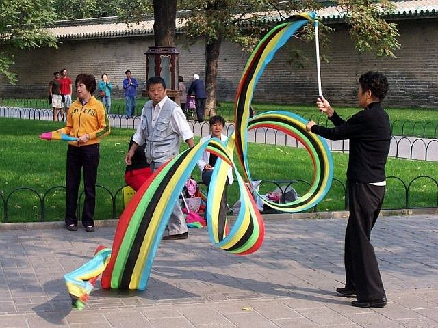Temple of heaven - The art of ribbon