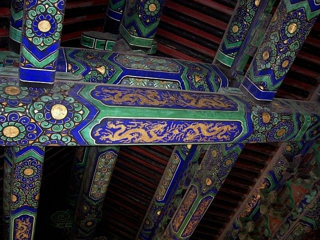 Temple of heaven - Patterns of the beams