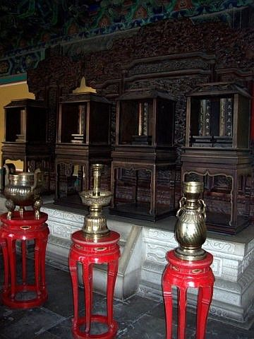 Temple of heaven - Tablets of the ancestors