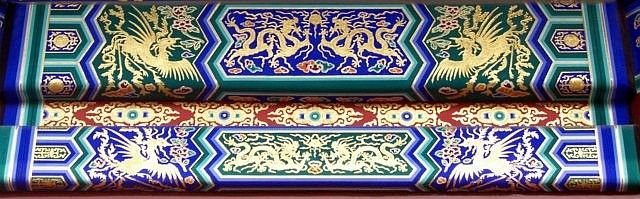 Temple of heaven - Decorated beams