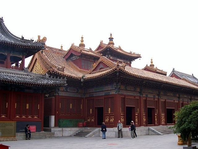 Lama temple - Hall of the wheel of the Law