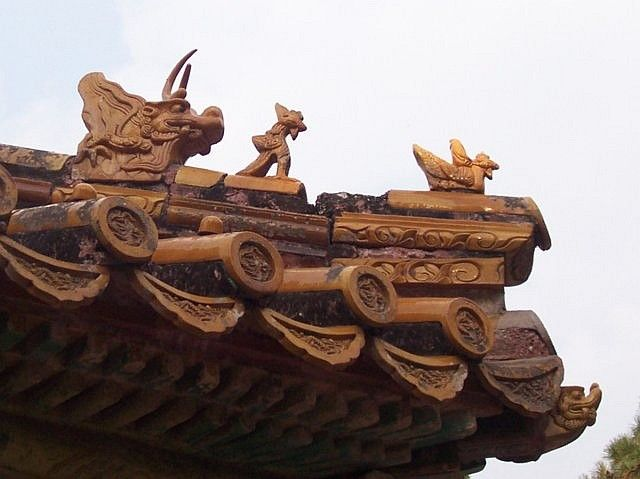 Changling -  Glazed roof tiles burners