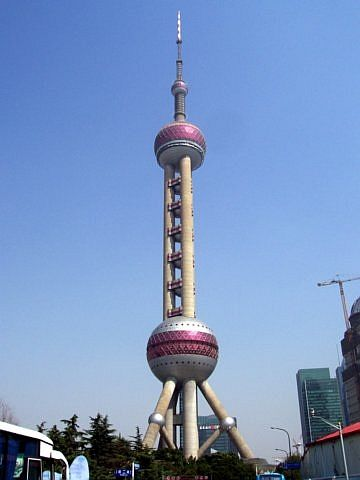 Pudong - Pudong TV tower&, the pearl of Orient