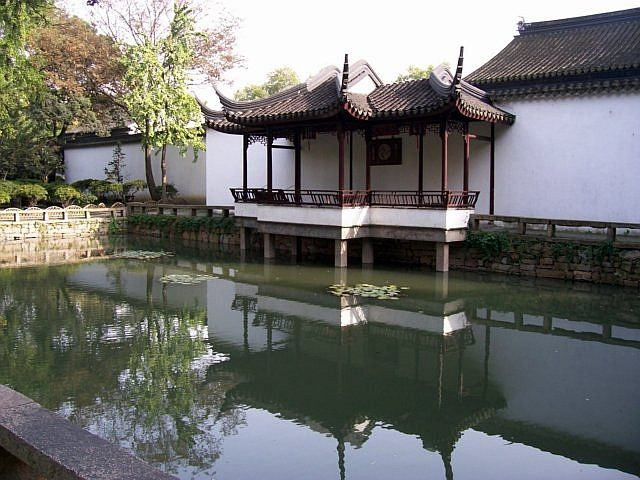 Humble administrator's garden - Water side