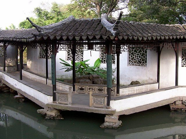 Humble administrator's garden - Covered gallery
