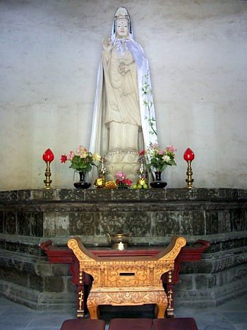 Temple of the north - Bodhisattva Guanyin