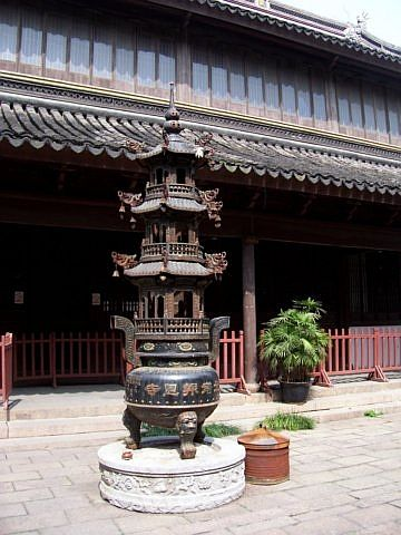 Temple of the north - Incense burners