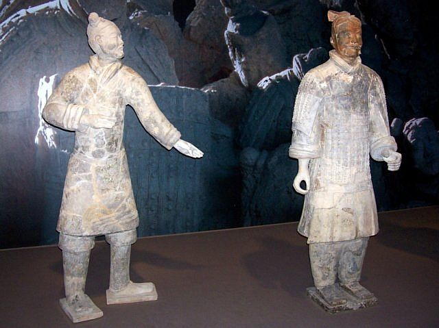 Xian buried army - Reproduction of terracotta warriors