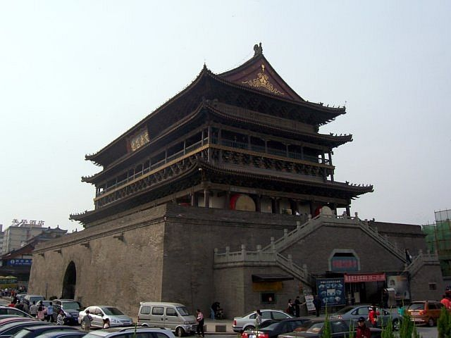 Xian city - Drum tower