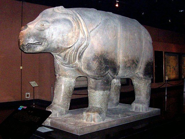Forest of steles - Stone rhino