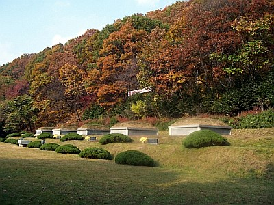 Graves of the first 5 Korean catholics