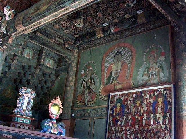 Beomeosa temple - Old decorations