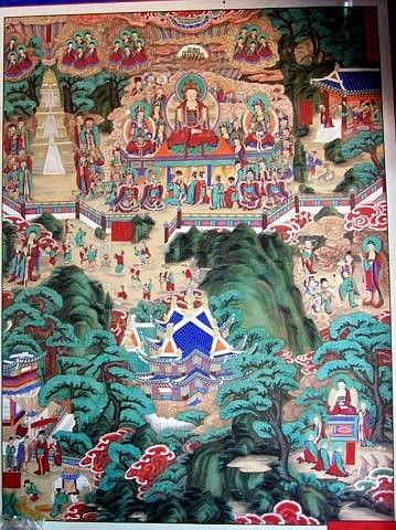 Beomeosa temple - Picture of Buddha's life #1