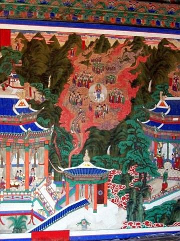 Beomeosa temple - Picture of Buddha's life #4