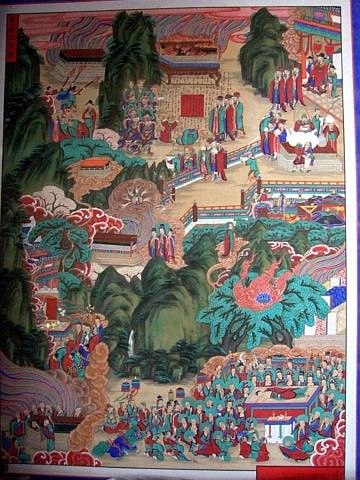 Beomeosa temple - Picture of Buddha's life #8