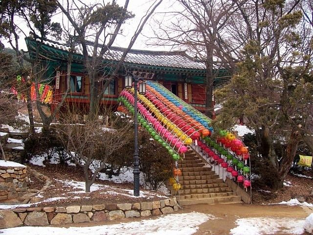 Jeongdeungsa temple - Access to the temple