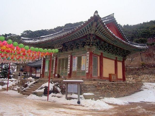 Jeongdeungsa temple - Main hall