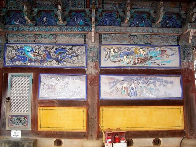 Jeongdeungsa temple - Paintings