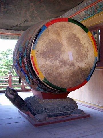 Bulguksa temple - Drum