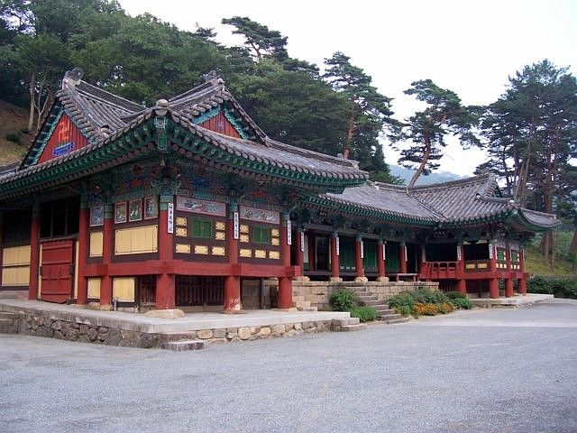 Temple Haeinsa - Hall d'un ermitage bouddhiste