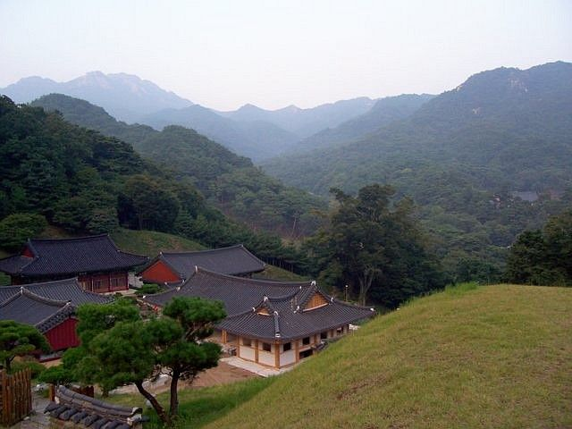 Haeinsa temple - View on the mountain