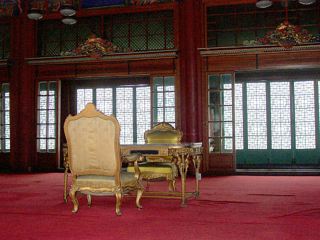 Changdeokgung palace - Royal apartments