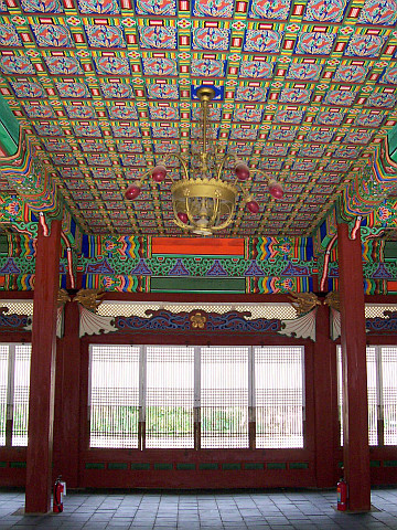 Deoksugung palace - Beautiful interior