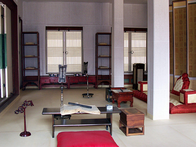 Gyeongbokgung palace - First annex room of sajeongjeon