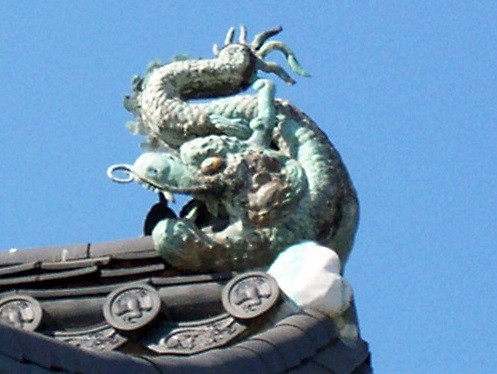 Gyeongbokgung palace - Decorative dragon