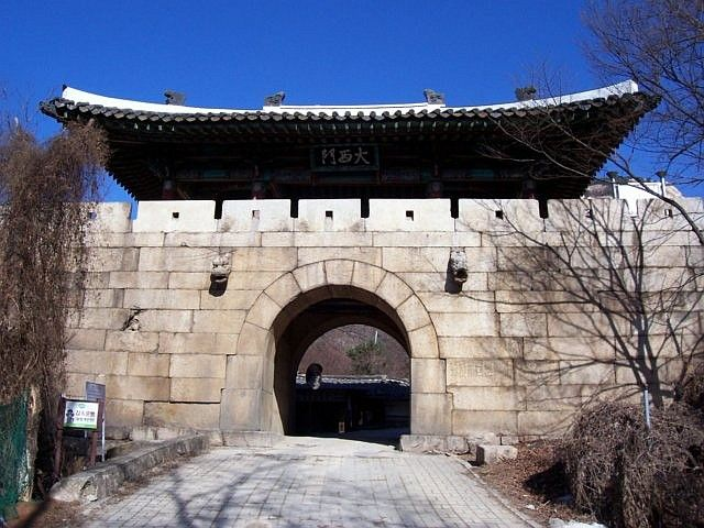 Bukhansan - gates of the old fortress