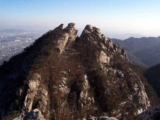 Bukhansan - photo paysage 1